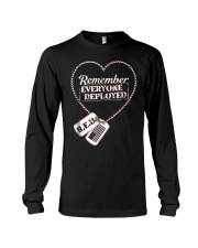 Distressed RED Friday T Shirt Remember Everyone De Long Sleeve Tee thumbnail