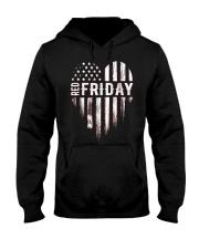 Distressed Red Friday Usa Heart Military T Shirt V Hooded Sweatshirt thumbnail