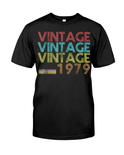 Vintage 1979 40 Years Old 40Th Birthday 70S Gift T