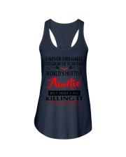 WORLD'S HOTTEST AUNTIE Ladies Flowy Tank thumbnail