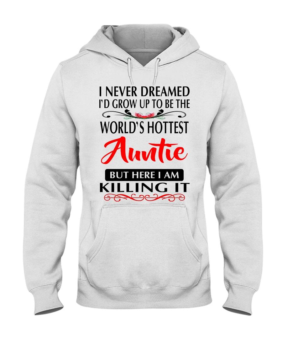 WORLD'S HOTTEST AUNTIE Hooded Sweatshirt