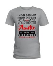 WORLD'S HOTTEST AUNTIE Ladies T-Shirt thumbnail