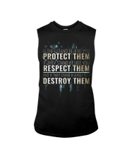 LIMITED EDITION - PROTECT RESPECT DESTROY Sleeveless Tee thumbnail