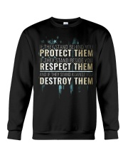 LIMITED EDITION - PROTECT RESPECT DESTROY Crewneck Sweatshirt thumbnail