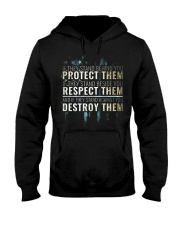 LIMITED EDITION - PROTECT RESPECT DESTROY Hooded Sweatshirt thumbnail