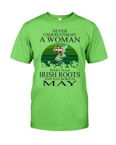 WOMAN IRISH WAS BORN IN MAY