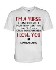 I'M A NURSE V-Neck T-Shirt thumbnail