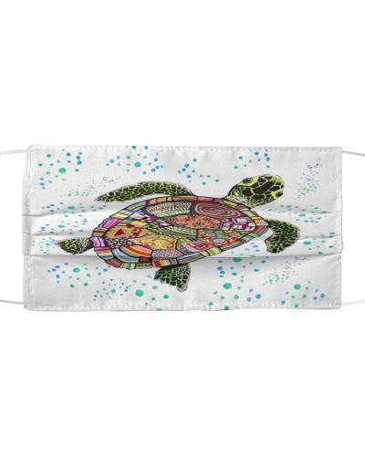 Face Veil Sea Turtle
