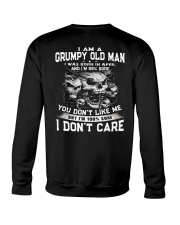 NEW VERSION - OLD MAN DON'T CARE 4 Crewneck Sweatshirt tile
