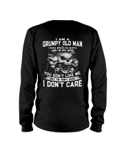 NEW VERSION - OLD MAN DON'T CARE 4 Long Sleeve Tee back