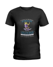 5 SIGNS I'M PROBABLY A DRAGON Ladies T-Shirt front