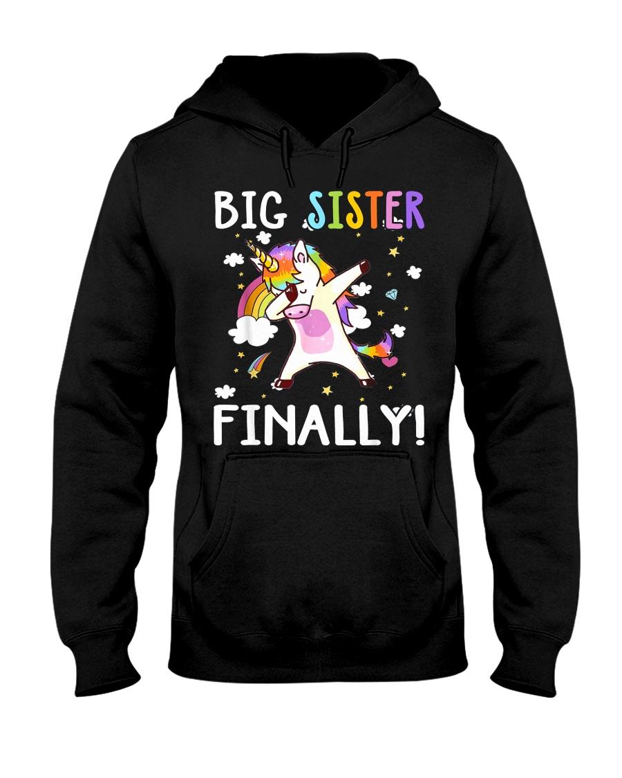 BIG SISTER FINALLY Hooded Sweatshirt