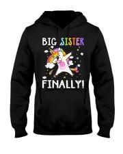 BIG SISTER FINALLY Hooded Sweatshirt front