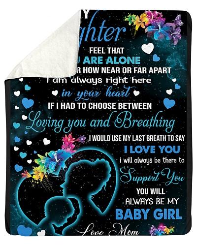 Blanket-To my Daughter - hadn