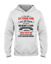OCTOBER GIRL Hooded Sweatshirt front