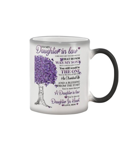 LIMITED EDITION DAUGHTER IN LAW MUG