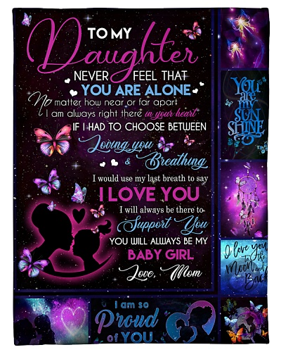 BLANKET - TO MY DAUGHTER - BABY - HTL