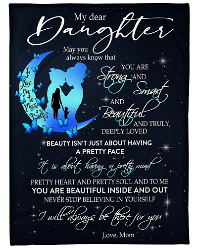 BLANKET - MOM - TO MY DAUGHTER
