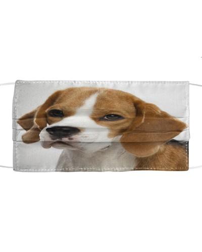 Fabric Mask Beagle Lover  - PC