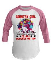 COUNTRY GIRL Baseball Tee thumbnail