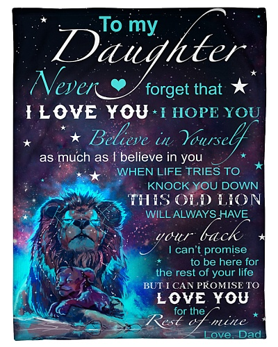 Blanket - To my Daughter - PCC