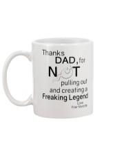 AWESOME - THANK DAD  Mug back