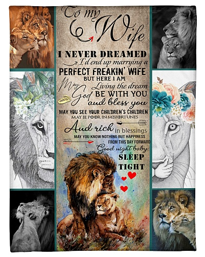 I'M MARRYING A PERFECT WIFE - BLANKET
