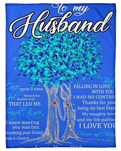 Blanket - To my Husband - PCC