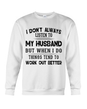MY HUSBAND - DTS Crewneck Sweatshirt thumbnail
