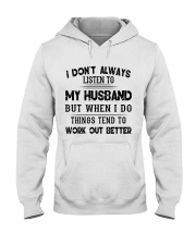 MY HUSBAND - DTS Hooded Sweatshirt front