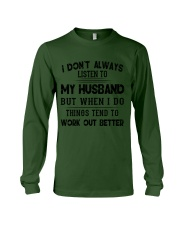 MY HUSBAND - DTS Long Sleeve Tee thumbnail