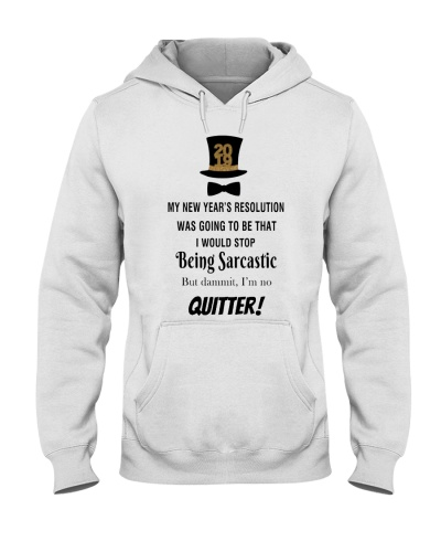 LIMITED EDITION - I'M NOT A QUITTER