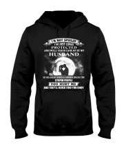 I'M NOT SPOILED Hooded Sweatshirt front