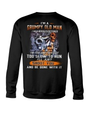 BOOM - I AM GRUMPY OLD MAN 10 Crewneck Sweatshirt thumbnail