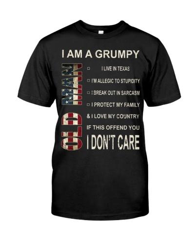 Limited Edition-Grumpy Old Man-texas
