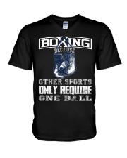 BOXING - LIMITED  V-Neck T-Shirt thumbnail