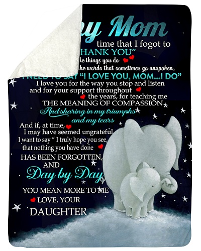 BLANKET - TO MY MOM - DTS