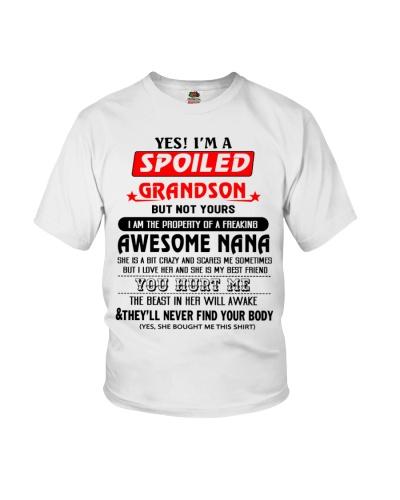 BOOM - I AM SPOILED GRANDSON