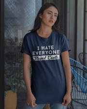 I HATE EVERYONE - DTS Classic T-Shirt apparel-classic-tshirt-lifestyle-08