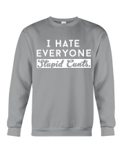 I HATE EVERYONE - DTS Crewneck Sweatshirt thumbnail