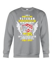 I AM A GRUMPY ARMY US VETERAN Crewneck Sweatshirt thumbnail