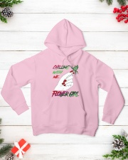 TOM- CHILLING WITH FLOWER GIRL Hooded Sweatshirt lifestyle-holiday-hoodie-front-3