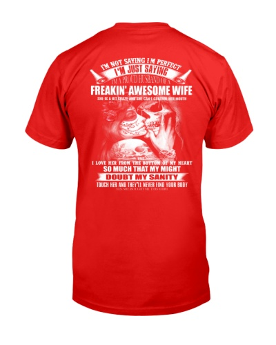 I'M A PROUD HUSBAND OF A FEAKIN AWESOME HUSBAND