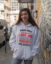 GOOD MEN STILL EXIST Hooded Sweatshirt lifestyle-unisex-hoodie-front-1