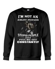 IM NOT AN ANGRY PERSON Crewneck Sweatshirt thumbnail