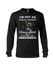 IM NOT AN ANGRY PERSON Long Sleeve Tee thumbnail