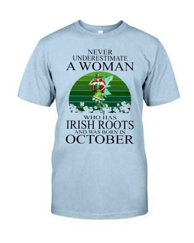 WOMAN IRISH WAS BORN IN OCTOBER