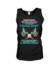 TATTOO ARTIST Unisex Tank thumbnail