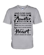 AUNTIE V-Neck T-Shirt thumbnail