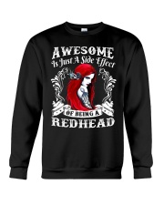 BEING A REDHEAD IS AWESOME - LIMITED Crewneck Sweatshirt tile